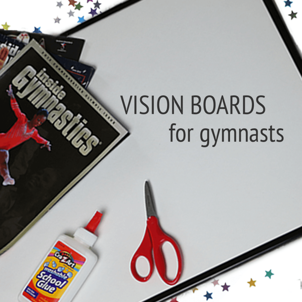 vision boards for gymnastics